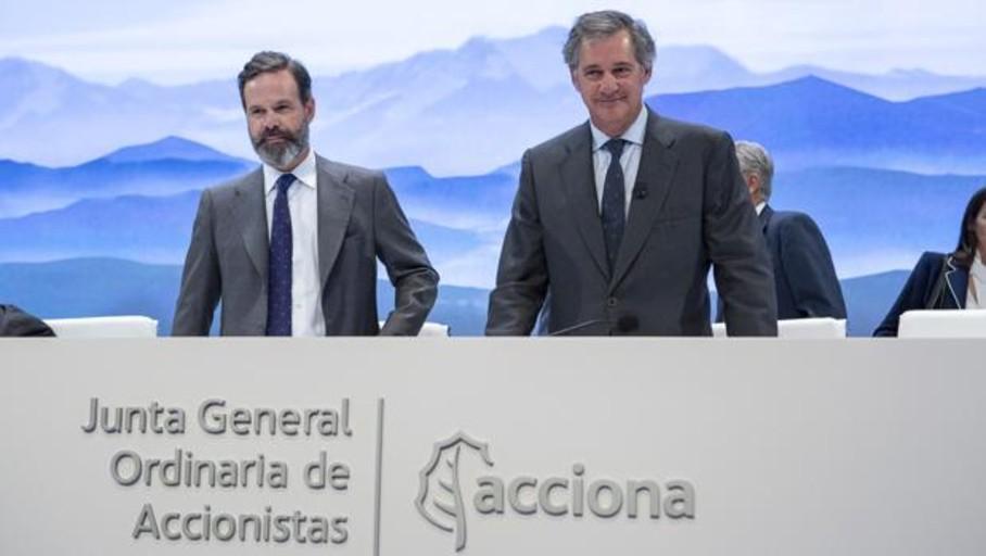 Acciona ganó un 43,4% más sin incluir extraordinarios