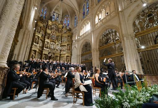 Concert of the Choir and Orchestra of the Royal Theater in the Cathedral of Burgos