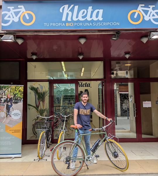 Diego Casabe co-founder of Kleta