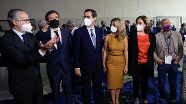 Garamendi provoca malestar en la CEOE por los indultos de Sánchez