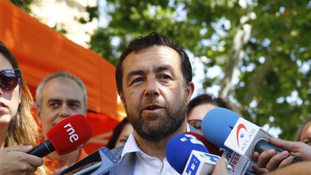 El delegado de Ciudadanos en Madrid, Miguel Gutiérrez