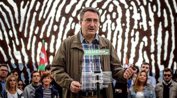 Aitor Esteban, candidato del PNV al Congreso por Vizcaya