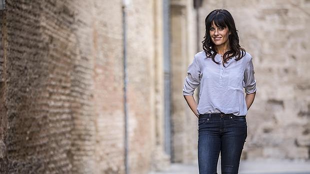 Cristina Seguí, durante la entrevista con ABC
