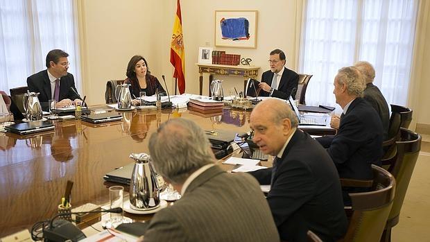 Consejo de Ministros en funciones, reunido el pasado martes en La Moncloa