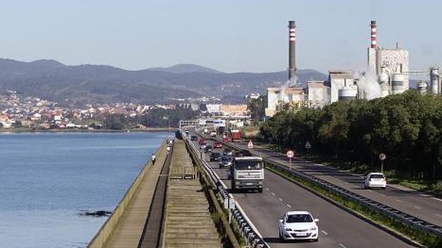 Centro de Operaciones de Ence en Pontevedra, líder europeo en fabricación de celulosa de eucalipto