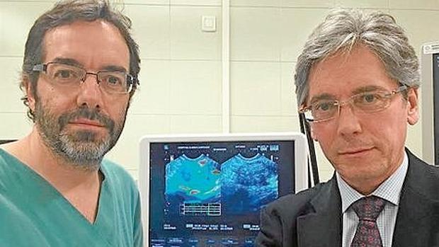 Doctores Julio Iglesias y Enrique Domínguez
