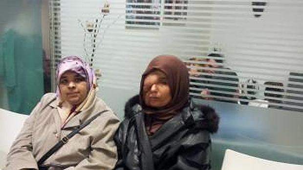 Imagen de Samira tomada en 2013 en la consulta del doctor Cavadas