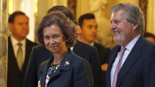 Doña Sofía, reconocida por la Fundación Mapfre