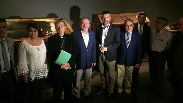 El consejero de Cultura, Santi Vila, en el Museo de Lleida