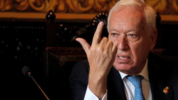 José Manuel García-Margallo, ministro de Exteriores en funciones