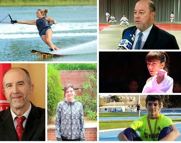 Algunas de las personas que han sido reconocidas con la Medalla de Oro de la Junta