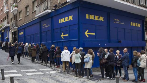 Ikea abre dos tiendas efímeras en el centro de Madrid