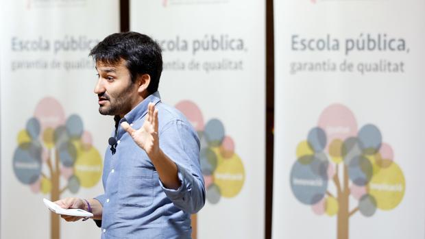 Imagen del conseller de Educación, Investigación, Cultura y Deporte, Vicent Marzà