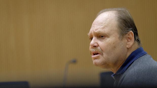 Antonio Ojeda, más conocido como Juan El Rubio, durante el juicio
