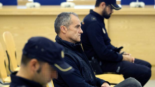 El exdirigente de ETA José Javier Arizkuren Ruiz, durante un juicio en 2013