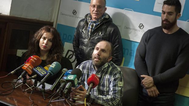 El portavoz municipal de Democracia Ourensana, Gonzalo Pérez Jácome