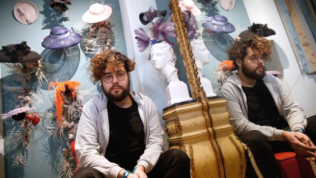 Betto García, en su atelier de Valencia