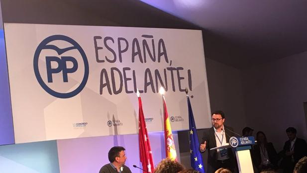 Asier Antona, líder canario del PP