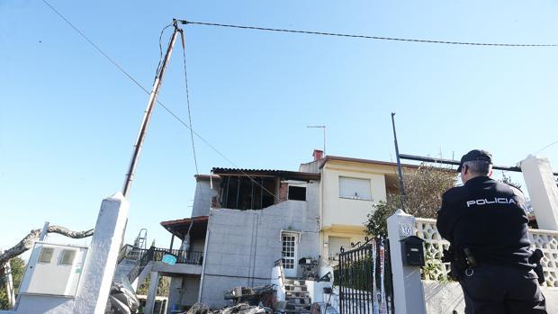 La explosión destrozó la parte de la vivienda donde estaba ubicado el dormitorio de la pareja