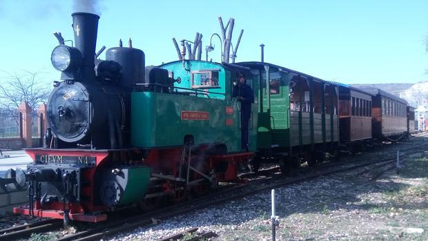 Tren de Arganda con su locomotora «Aliva nº4» de 1926