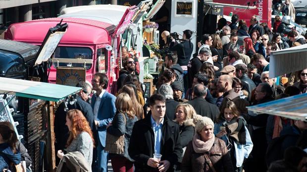 Expo Food Trucks en Nuevos Ministerios