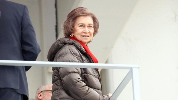La Reina Sofía, en una imagen de archivo