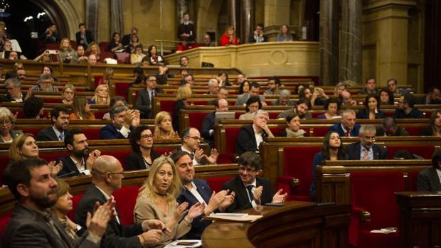 El pleno del Parlament, esta semana