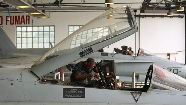 Los cazas desplazados al Báltico pertenecen al Ala-15 del Ejército del Aire español, con centro en Zaragoza