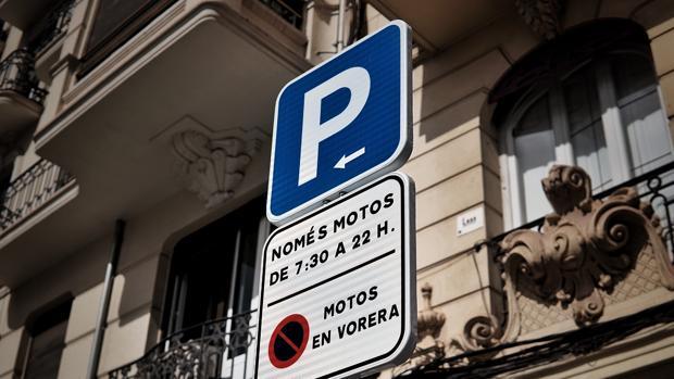 Imagen tomada este jueves en la calle Bailén de Valencia