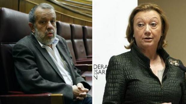 Fernández marugán y Luisa Fernanda Rudi