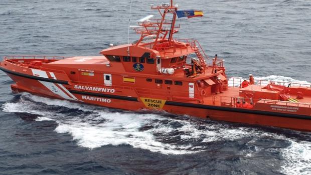 Embarcación de Salvamento Marítimo en aguas de Alicante