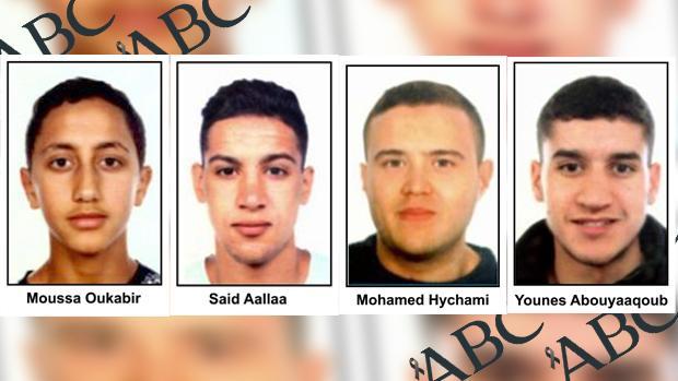 Por el momento no se sabe si Younes Abouyaaquob (derecha) se encuentra con vida