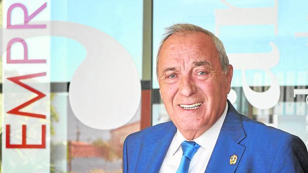 Fernando Escobillas, presidente de la Consejo Regional de Cámaras