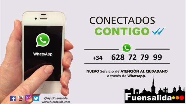 Imagen del nuevo servicio de Fuensalida