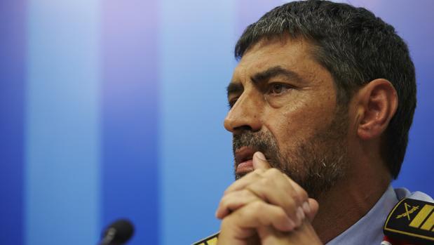 Trapero, durante una de sus comparecencias tras los atentados