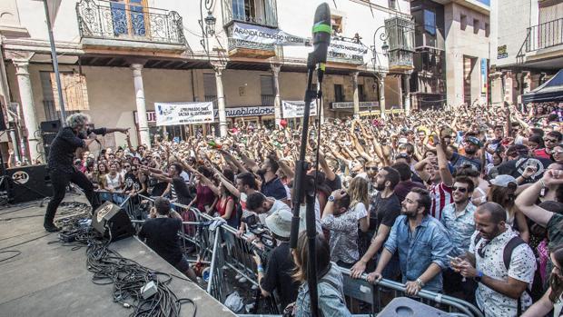 Uno de los conciertos del Sonorama en Aranda de Duero (Burgos)