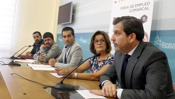 Jorge Vega, Alberto Tostado, Jaime Corregidor, María Ángeles Martínez y Manuel Madruga