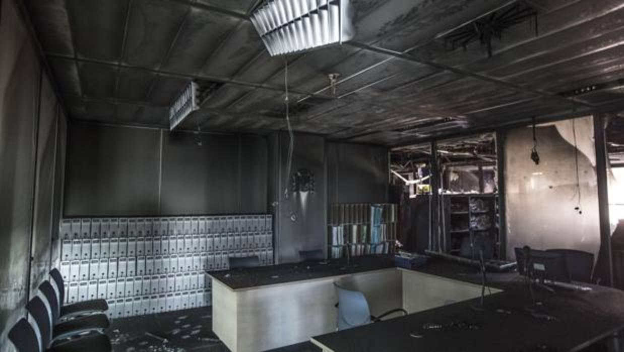 La Ciudad de la Justicia de Valencia reabre tras el incendio con veinte juzgados todavía cerrados