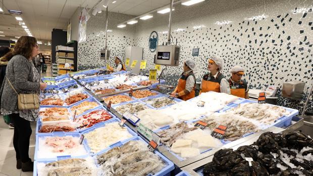 Imagen de archivo de uno de los nuevo supermercados de Mercadona