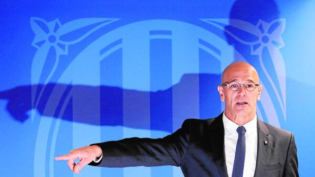 Raül Romeva, consejero de Exteriores para la Generalitat
