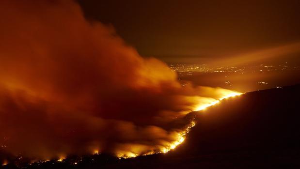 Incendio en el municipio lucense de Chantada