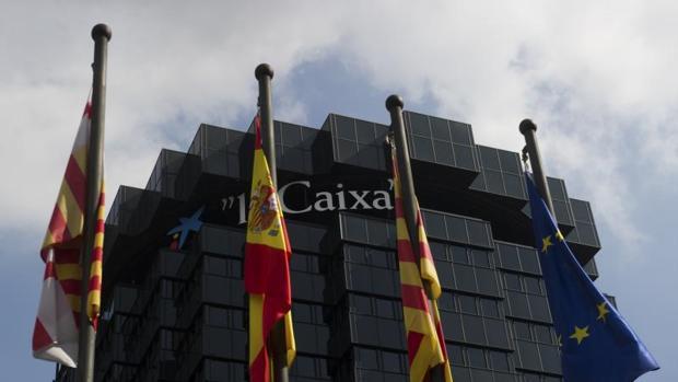 Sede de La Caixa en La Diagonal deBarcelona