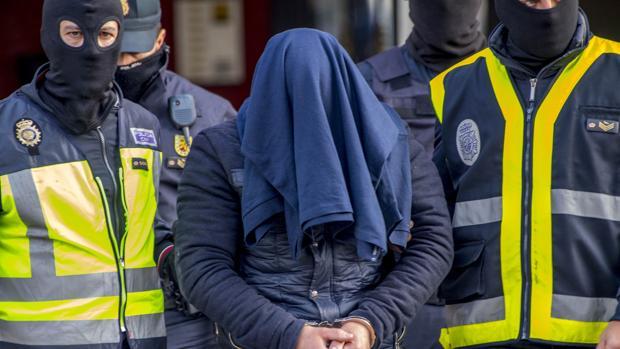 Detención de un yihadista a finales de 2016