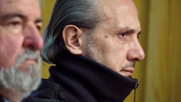 El empresario Jorge Dorribo durante el juicio