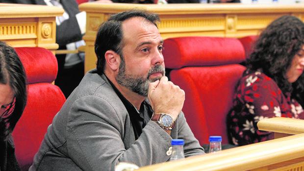 Javier Mateo, portavoz de Ganemos
