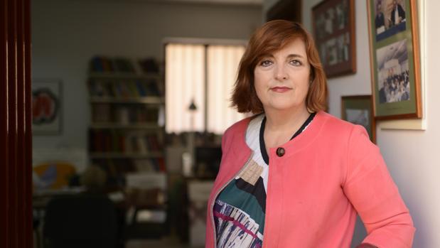 Cristina Cuesta Gorostidi, la víctima de ETA que impartió la charla en el centro