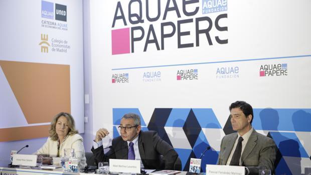 Presentación de la publicación de la Fundación Aquae e Hidraqua