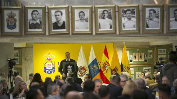 El presidente de Las Palmas y líder de Seguridad Integral Canaria, Miguel Ángel Ramírez