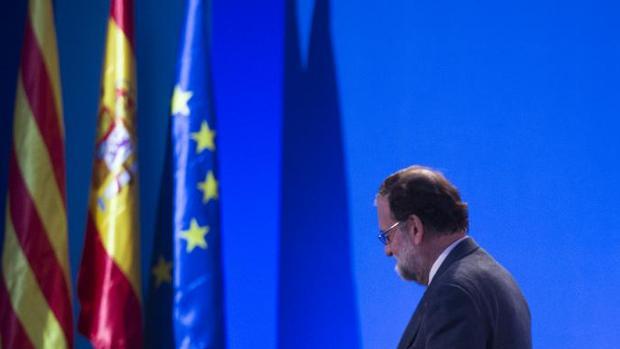 Mariano Rajoy, en el mitin cierre de campaña del PP