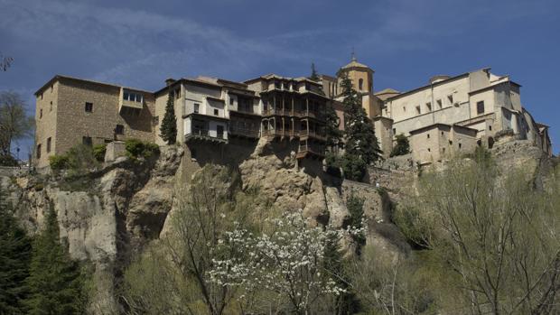 Vista de las Casas Colgadas de Cuenca